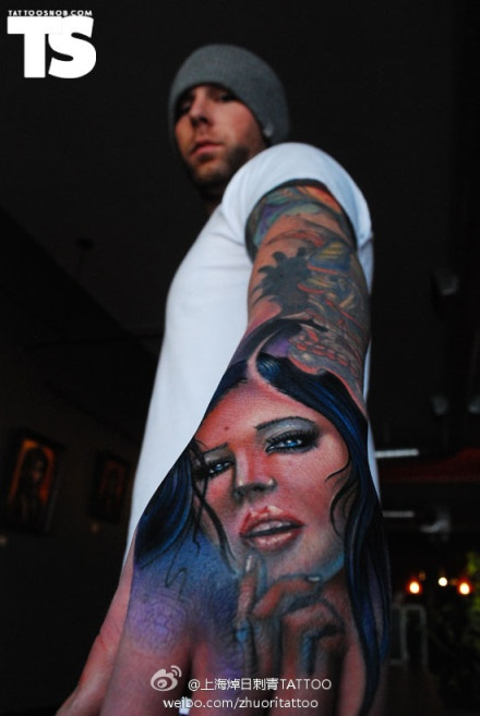 #portrait tattoo