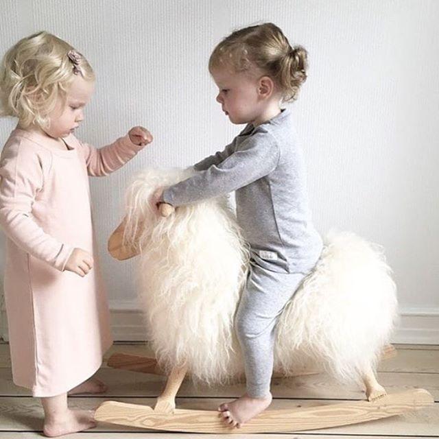 Cutest twins in SNORK organic nightwear.