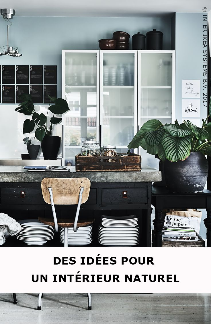 les 25 meilleures id es de la cat gorie cuisine avec ilot centrale sur pinterest cuisine. Black Bedroom Furniture Sets. Home Design Ideas