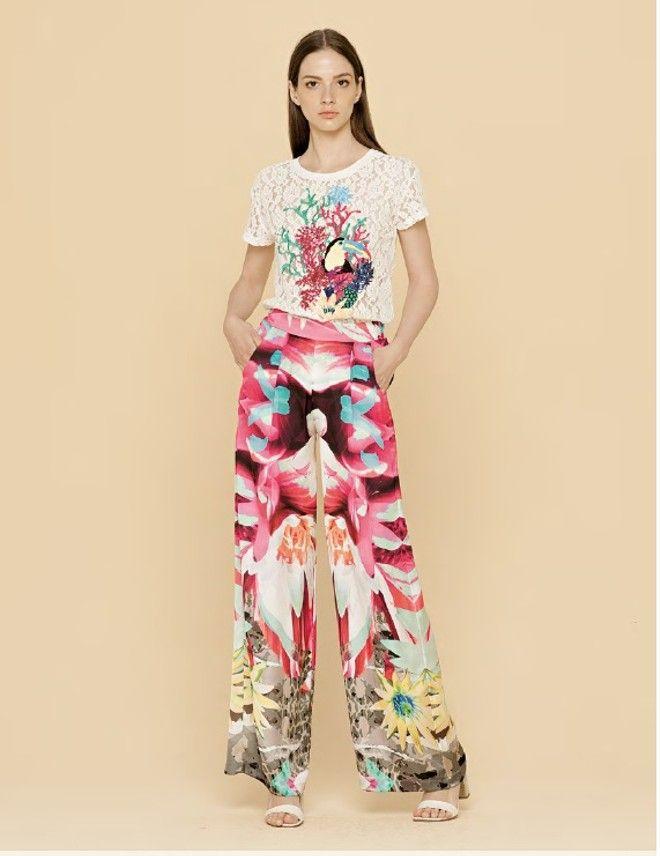 pantalone palazzo donna taglie 40-42-44-46