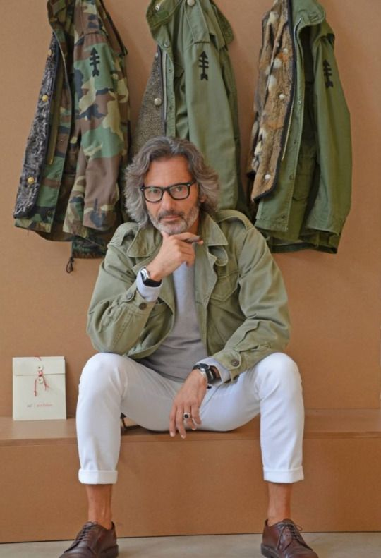 Green Camo & Fatigue Style Jackets, via Sharperman, Men's Spring Summer Fashion,