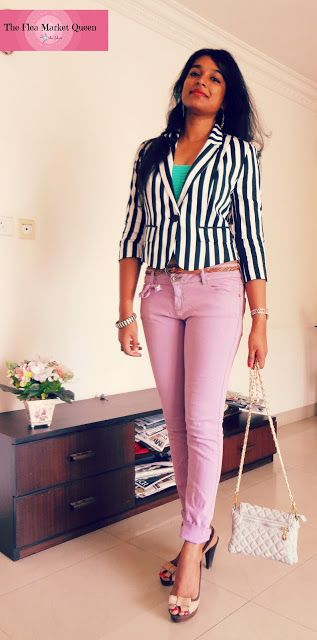 A quick look into my current fashion obsessions #forever21 jacket  #OVS denims #forever21 bandeau #Marks&Spencers heels