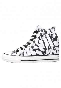 Converse - CHUCK TAYLOR ALL STAR MID LUX - Sneakers alte - white/black