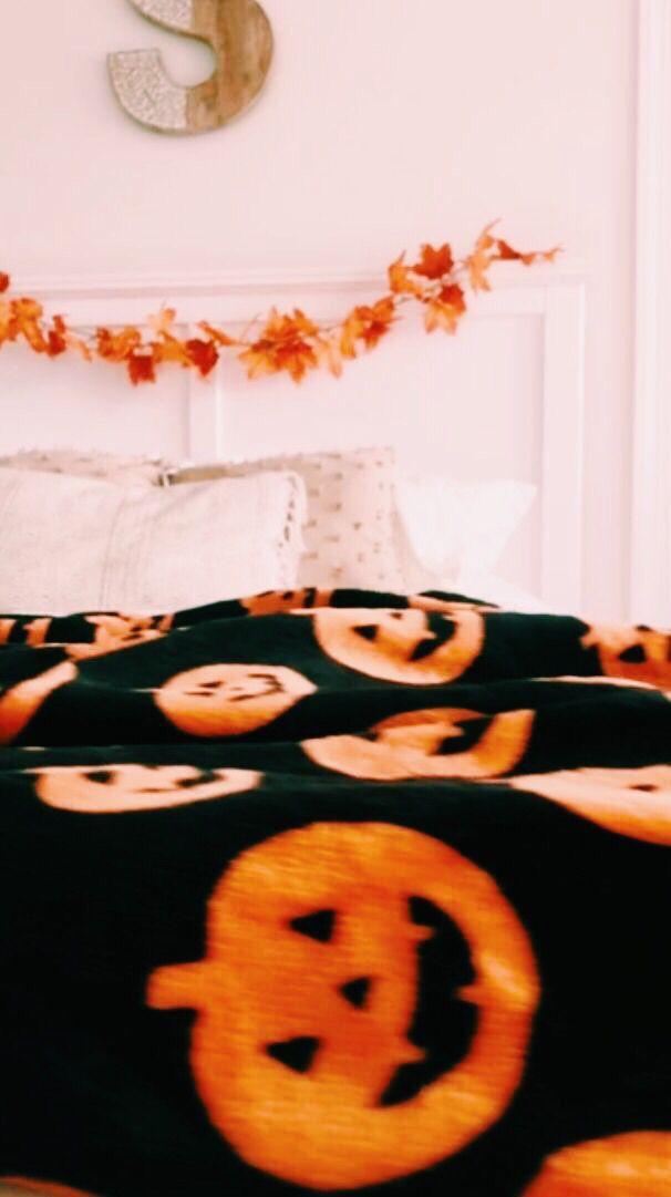 Allisonngg Halloween Blanket Fall Halloween Halloween Decorations