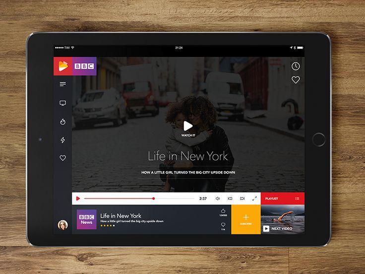 Video mobile app by Ayhan Bari