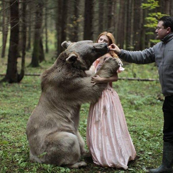 Best Katerina Plotnikova Images On Pinterest Creativity - Russian photographer takes enchanting fairytale photos featuring wild animals