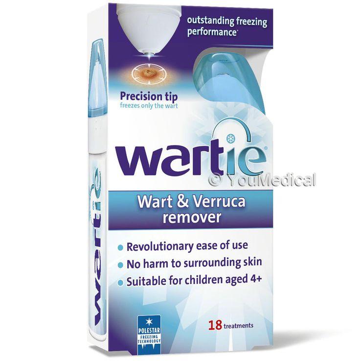 Wartie Wart & Verruca Remover - Verruca & Wart Freeze Treatment