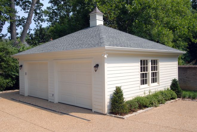 88 best driveway ideas images on pinterest for Detached garage with carport