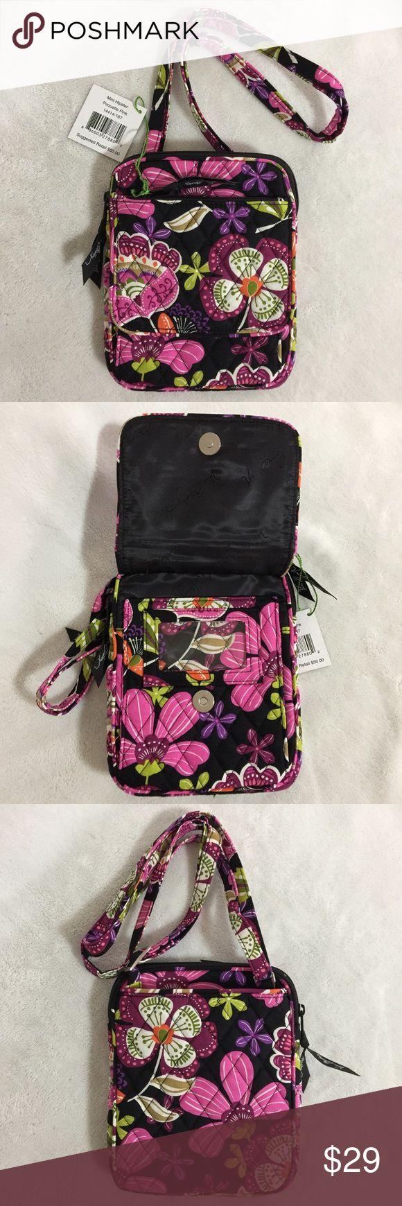 Selling this Vera Bradley Mini Hipster Crossbody Pirouette Pink on Poshmark! My username is: mtnoonan. #shopmycloset #poshmark #fashion #shopping #style #forsale #Vera Bradley #Handbags