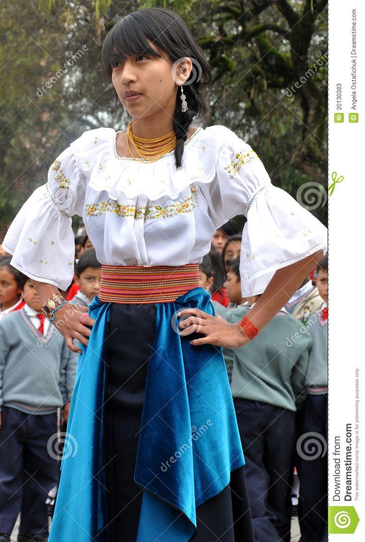 Ecuador Fashion Traditionel Women