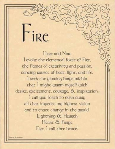 Details about FIre Evocation Parchment Page for Book of Shadows, Altar – Medicine Wheel