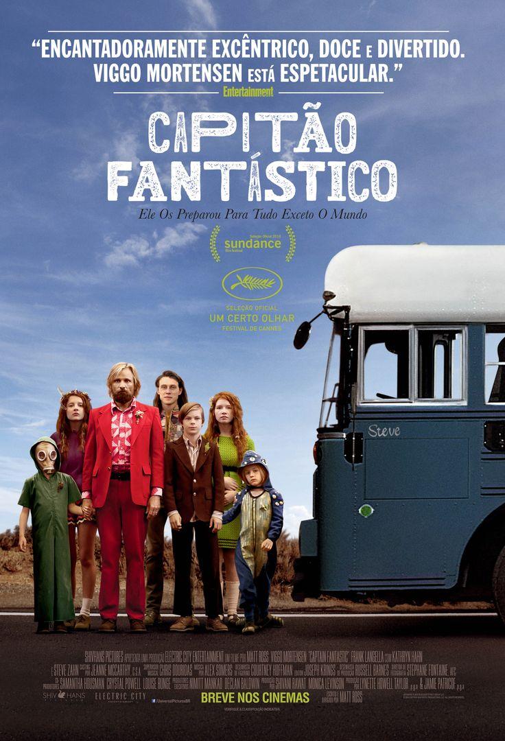Cartaz de Capitão Fantástico, 22 de dezembro nos cinemas!