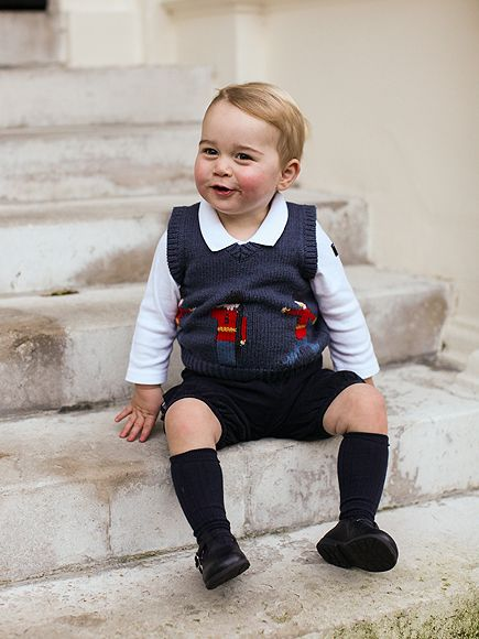 Prince William and Kate Release Three New Pictures of Prince George
