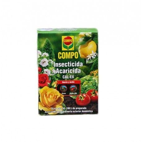 Insecticida acaricida muy efectivo contra la araña roja y los ácaros en plantas ornamentales, huerta y frutales.