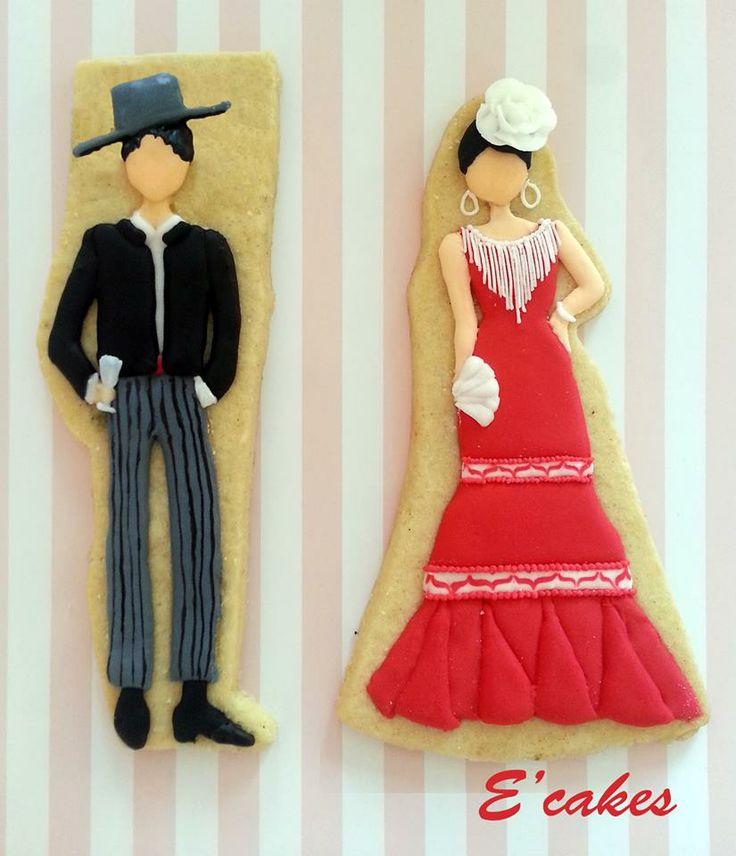 Galletas flamencos.