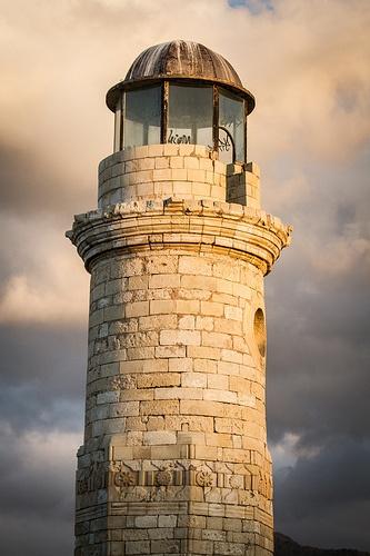 Crete, Rethymnon: The lighthouse