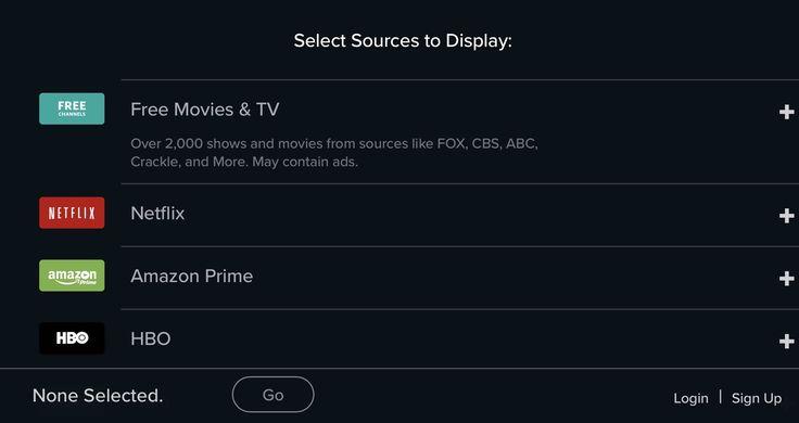 Reelgood sitio web que nos ayuda a consultar el catalogo de servicios de streaming como Netflix Prime Video o HBO Go