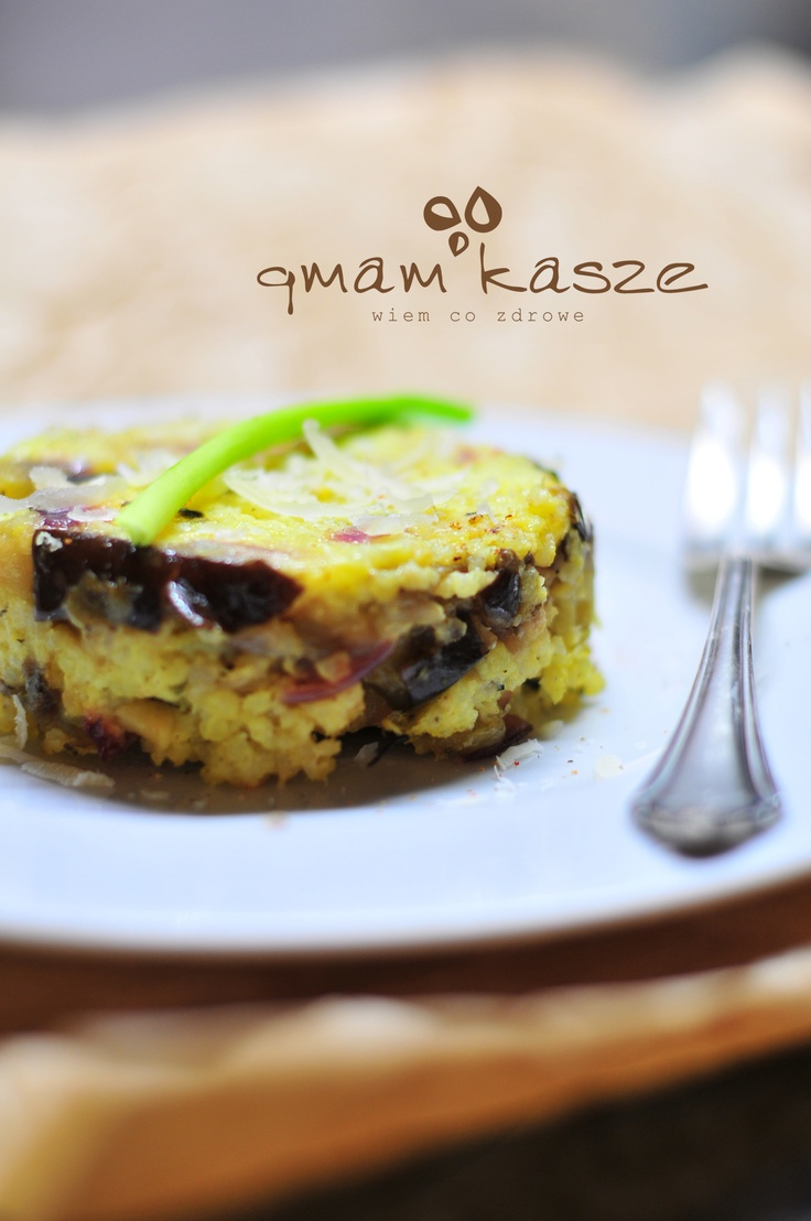 Millet with eggplant and...
