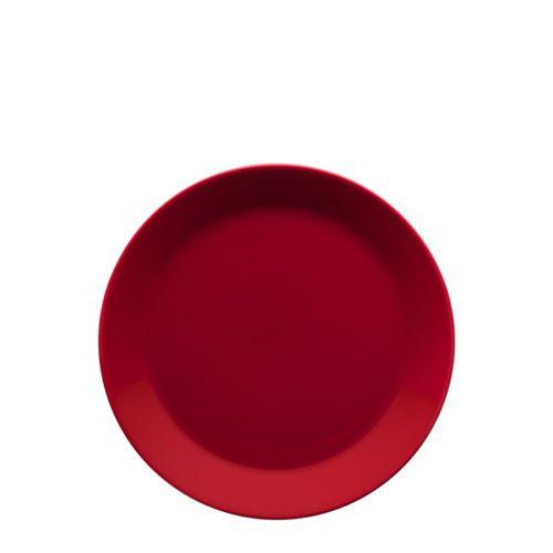 Teema Rot Teller flach 21 cm iittala