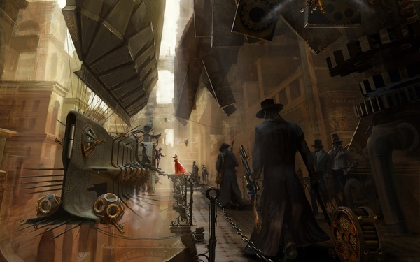 steampunk  #steampunkTraining, Steampunk Art, The Artists, Steampunk Airship, Steam Punk, Ships, Cities Life, Desktop Wallpapers, Drawing