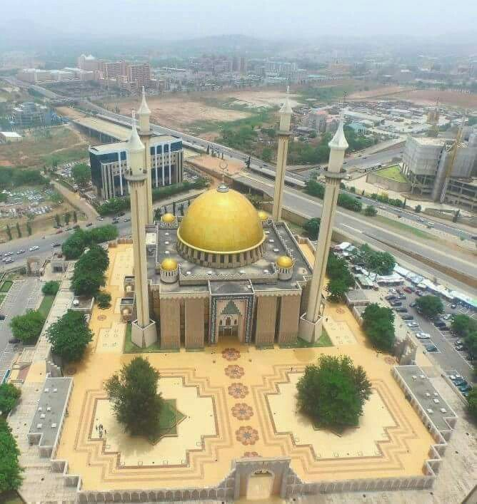 Abuja masjid, Nigeria.
