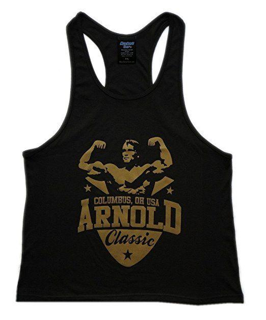 f7c20aa16e35c Muscleman Gear Arnold Schwarzenegger Classic Men s Stringer Tank Top Review