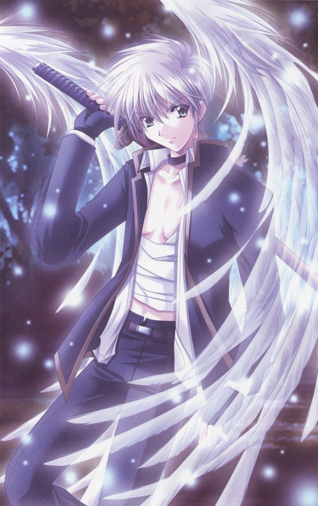 anime - angel's feather