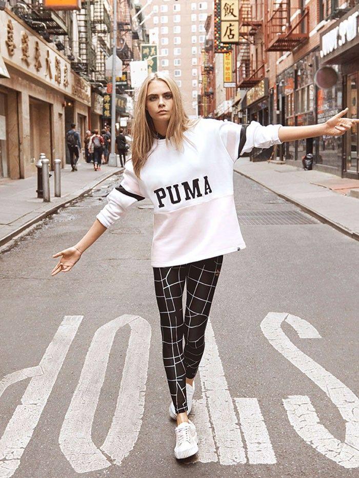 Rihanna Directed Cara Delevingne's New Puma Campaign