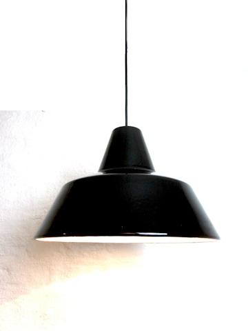We got this for dining room. 45cm. Largest version. Vintage Louis Poulsen Workshop Lamp designed by Arne Jacobsen