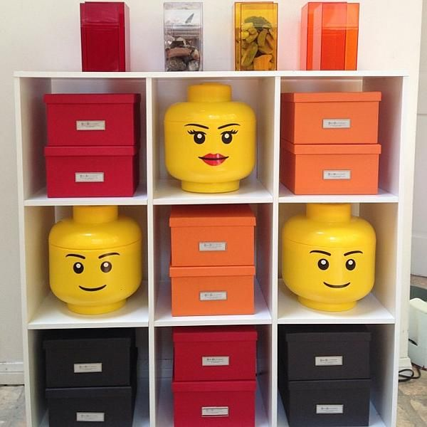 The Container Store U003e LEGO® Storage Heads