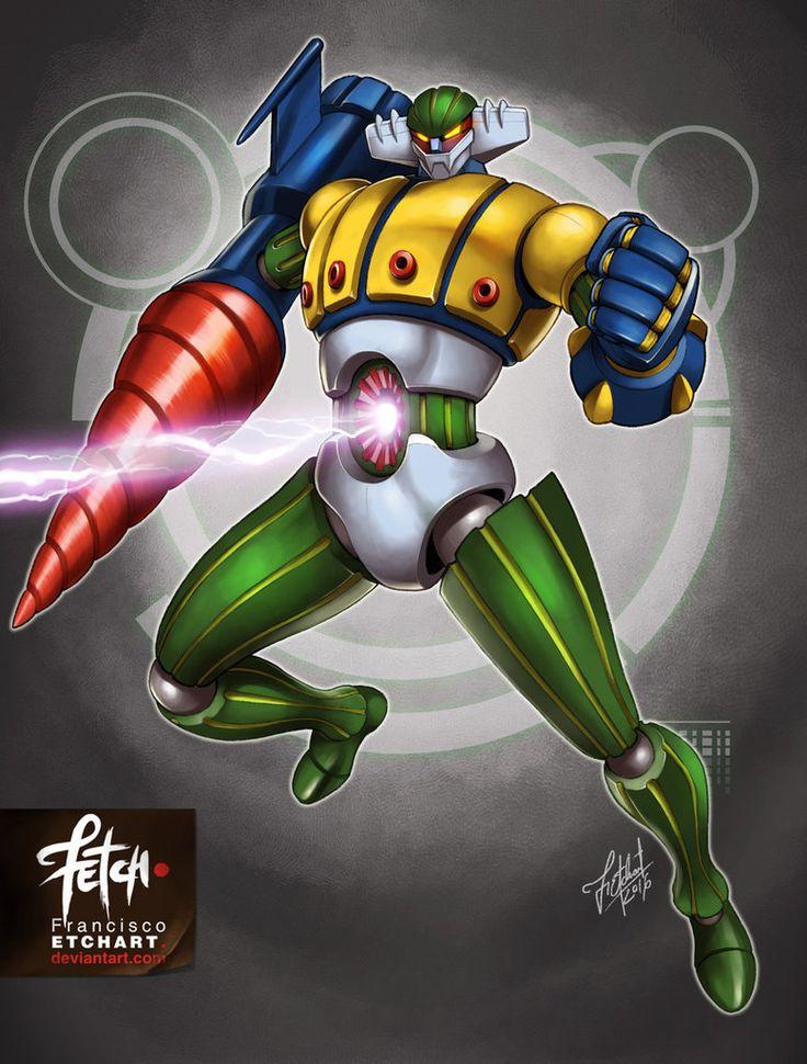 11/32 Robots / JEEG by FranciscoETCHART.deviantart.com on @DeviantArt