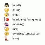 Hidden Skype Emoticons and Smileys