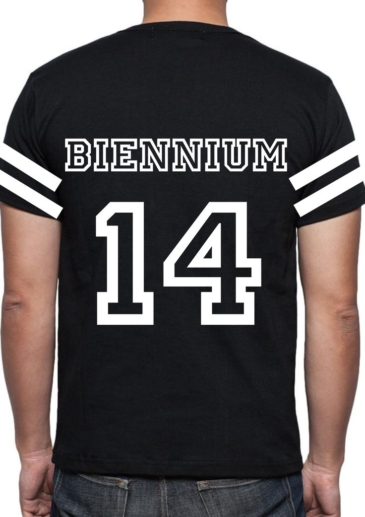 Biennium Merch Idea Jersey