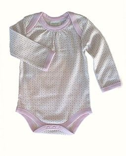 Sapling -Organic Cotton Long Sleeve Bodysuit - Essentials Pink - Not Another Baby Shop - Babies, Toddlers & Kids