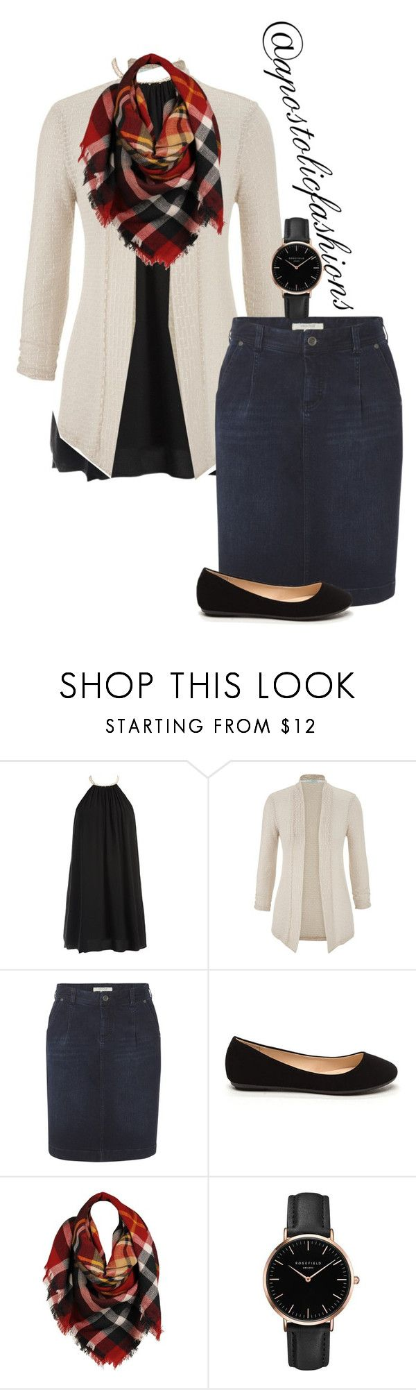 """""""Apostolic Fashions #1674"""" by apostolicfashions ❤ liked on Polyvore featuring Sans Souci, maurices, White Stuff, Sylvia Alexander and Topshop"""