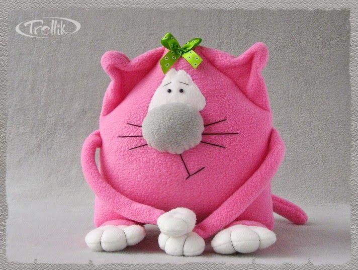 Игрушка кошка Жозефина  от Olik Trollik