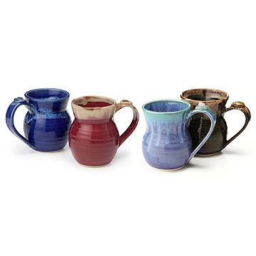 Healing Stone Mugs uncommongoods.com CREATED BY Donna and Randall Rollins $22.00