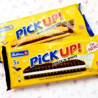 Would you like to claim your free pack of Bahlsen Pick Up Black 'N White chocolate biscuits?