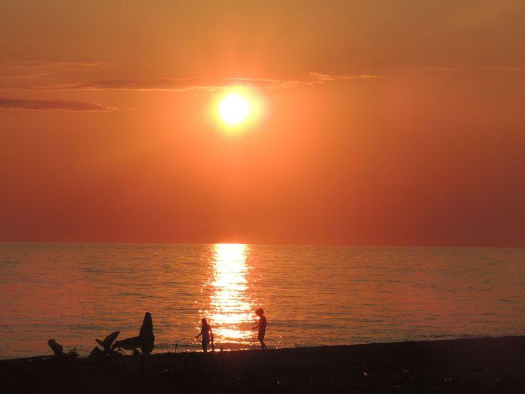 Sunset in Elaia, Peloponnese #Greece