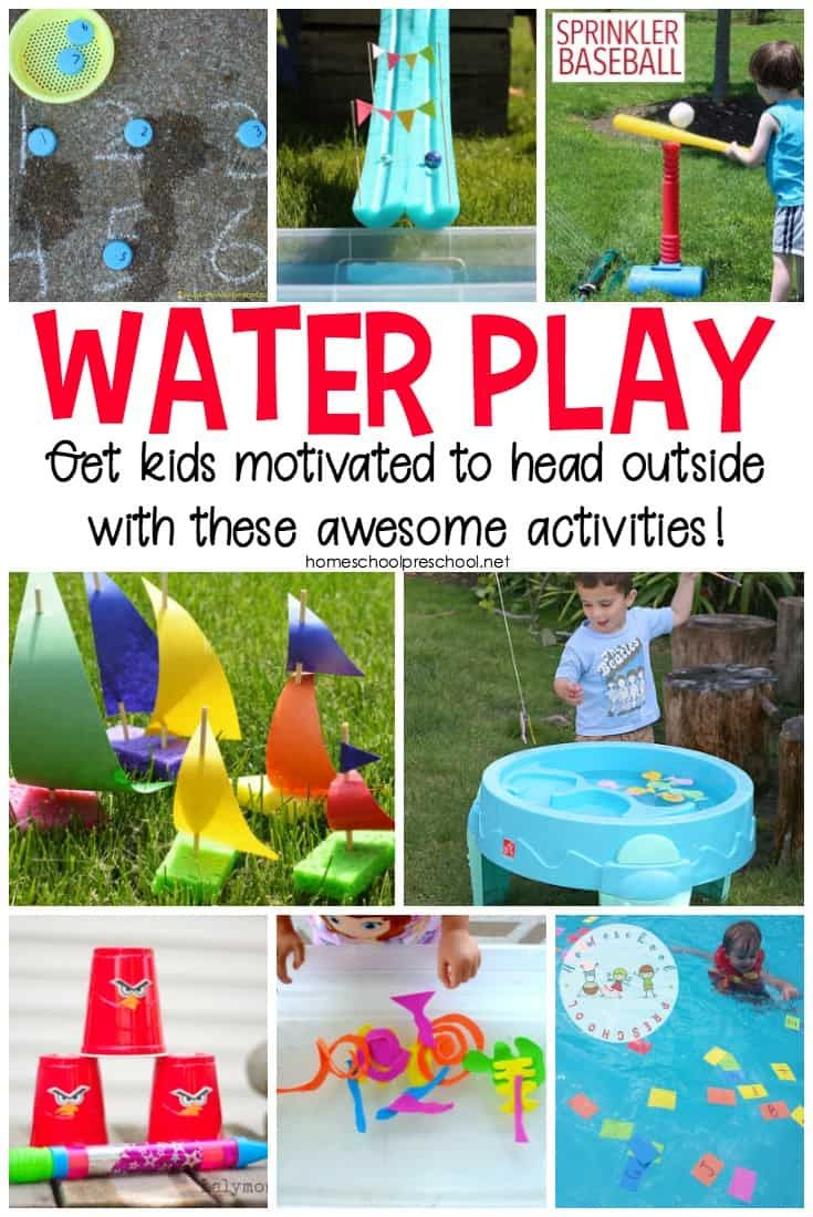 19 Outrageously Fun Outdoor Water Play Ideas for Kids  Water play