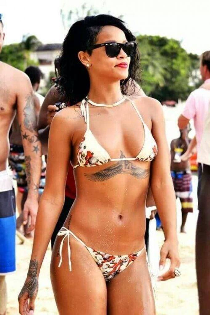 Rihanna Tattoo List Ink And Tattoos in The Most Amazing   Rihanna Tattoo for Tattoo Design