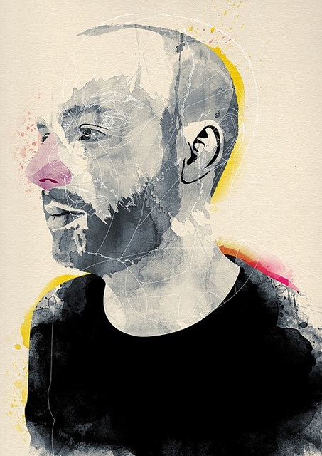 Hellohead. Sam Glynn by alvaro tapia hidalgo, via FlickrC Alvaro Tapia, Illustration Projects, Art Design, Flickr Hellohead, Sam Glynne, Tapia Hidalgo, Art Artists, Illustration Portraits, Random Art