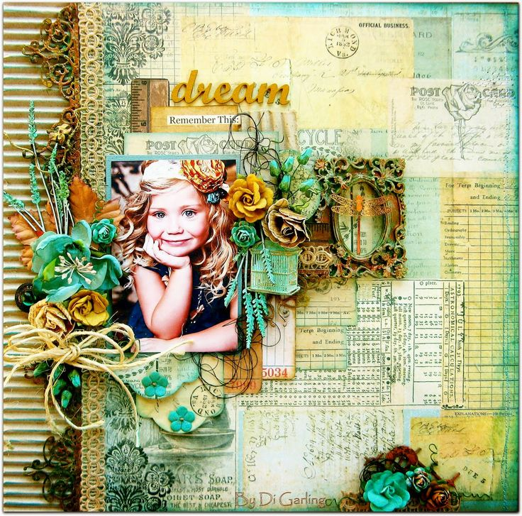 """Di's Creative Space: My """"Scraps of Darkness Kit Club""""July DT Reveal - Part Two""""Dream"""""""