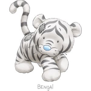 Bengal... the prowling White Tiger who'll growl her way to your heart... she'll never stray far and will always be within a whisker of you.