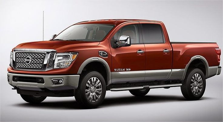 2016 nissan titan xd price cummins diesel specs release date concept mpg interior review gas engine news pics mileage photos availability aisin transmission detroit auto show