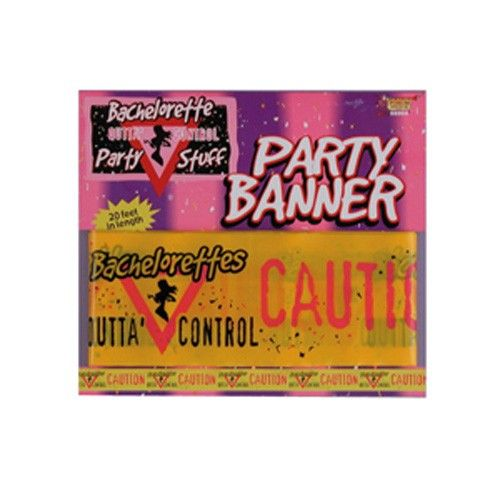 Bachelorette Caution Party Banner.  -  $4.95 See more at http://myhensparty.com.au/