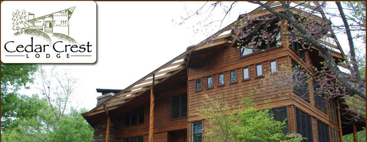 Cedar Crest Lodge in Ponca, Arkansas
