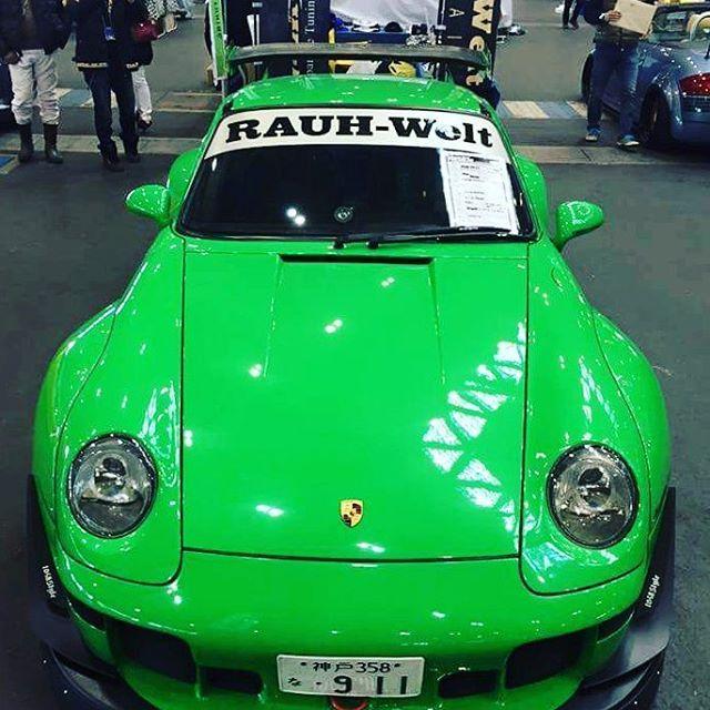 RWB Porsche 993 at Nagoya Auto Trend  #rwb #rauhweltbegriff #rauhwelt #porsche #porsche993 #illest  #stancenation #fatlace #kamiwazajapan #1048style #993 #porschemotorsport  #euromagic #nagoyaautotrend #stancenation