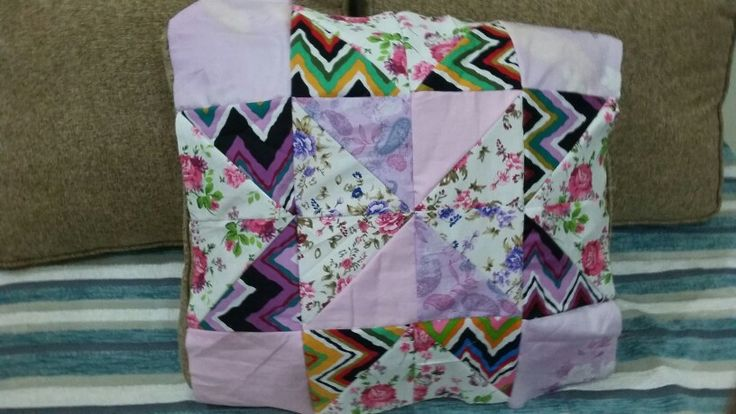 My first quilting project.. almost done...