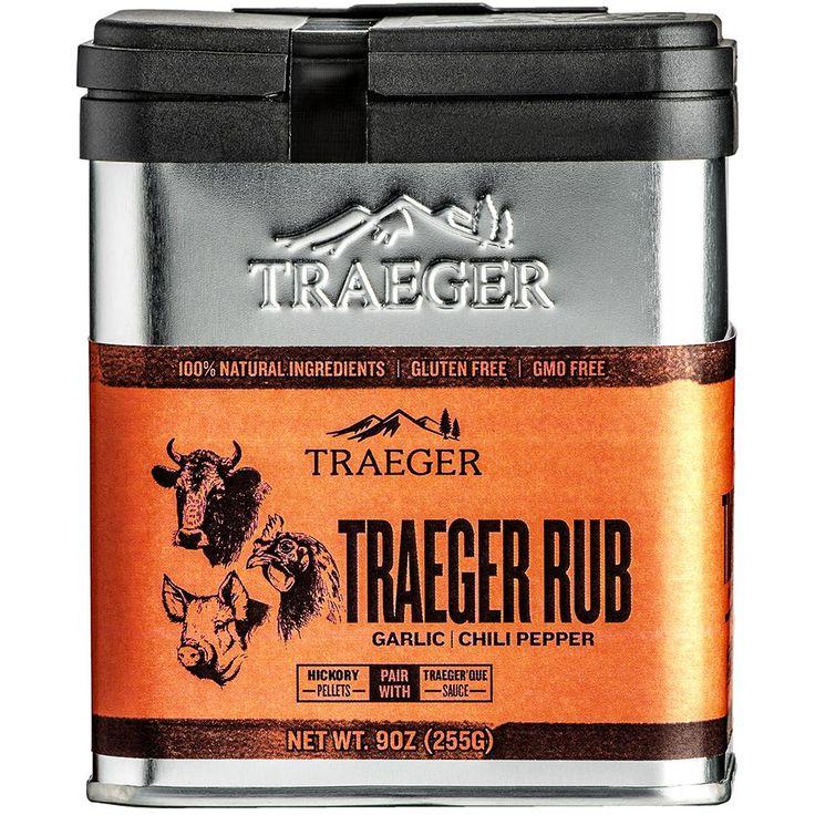 Traeger Traeger RubSPC174 The Home Depot Coffee rub